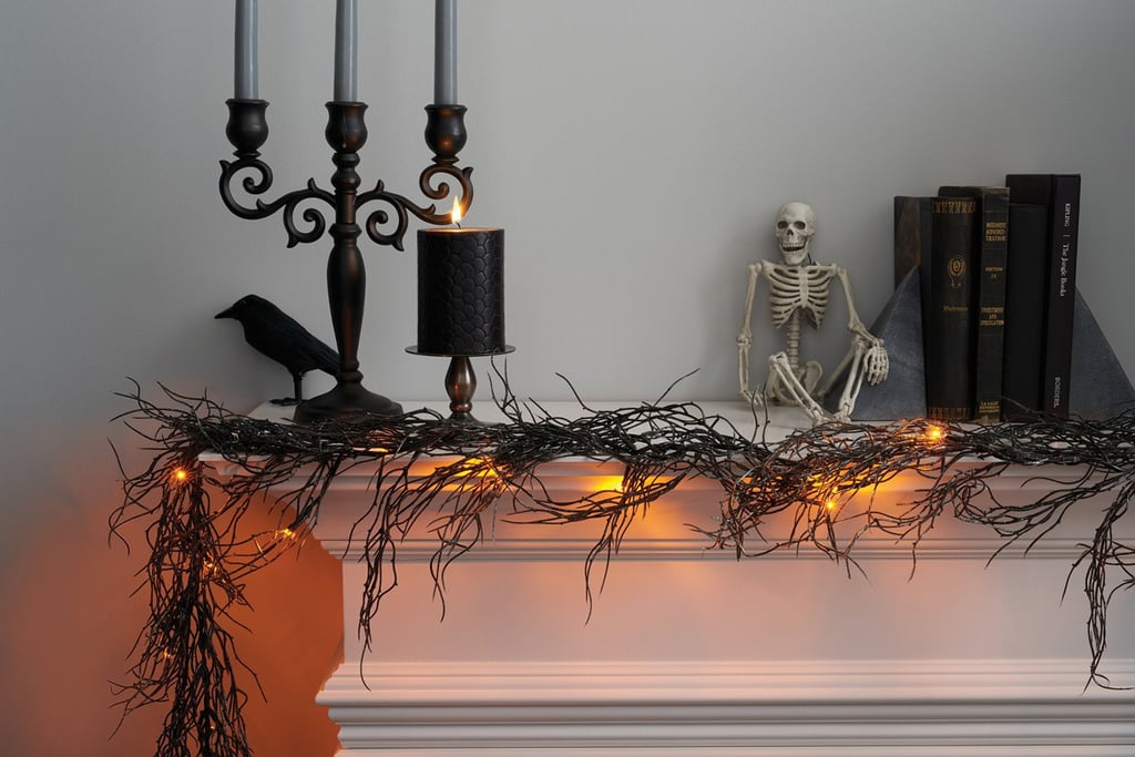 hyde and eek boutique black string lights with led bulbs