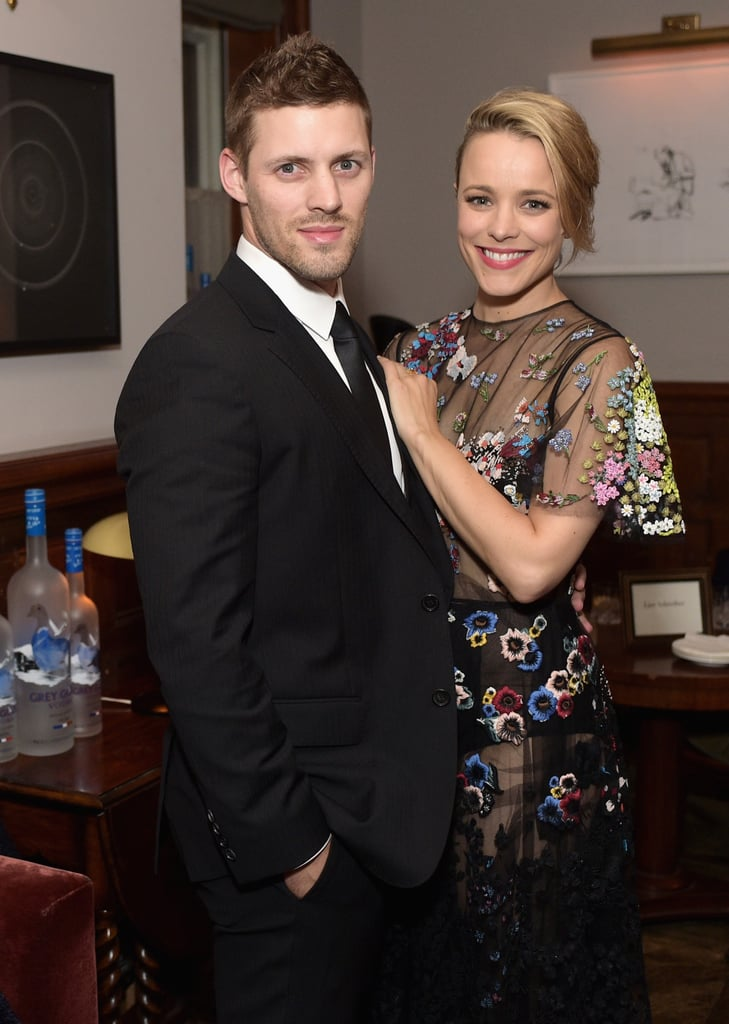 It's no secret that Rachel McAdams has had her share of enviable moments, but who knew that her good looks ran in the family? On Monday, all eyes were on Rachel McAdams and her hot younger brother, Daniel, when they made an appearance at the SoHo House party in Toronto to celebrate the premiere of Rachel's new movie, Spotlight. But don't get your hopes up — it turns out Daniel is a married man. According to Us Weekly, the handsome hunk, who runs his own fitness company, tied the knot back in 2013. Scroll through for some must-see snaps of the pair's outing, then see all the other celebrity siblings you may not know about.