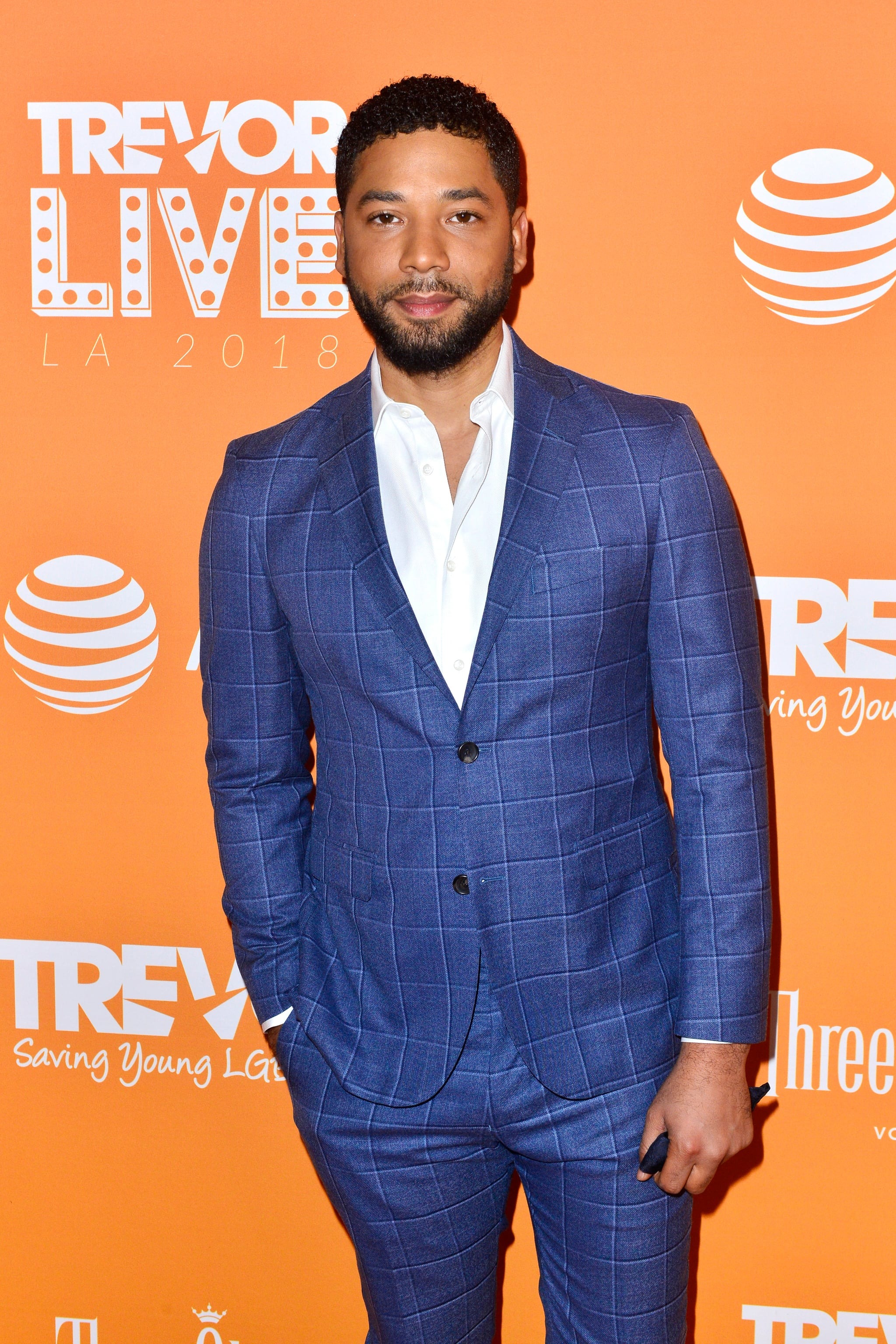 BEVERLY HILLS, CA - DECEMBER 02:  Jussie Smollett attends the Trevor Project's TrevorLIVE LA 2018 at The Beverly Hilton Hotel on December 3, 2018 in Beverly Hills, California.  (Photo by Jerod Harris/Getty Images for The Trevor Project)