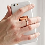A Ring Stand to Hold Your Phone Securely