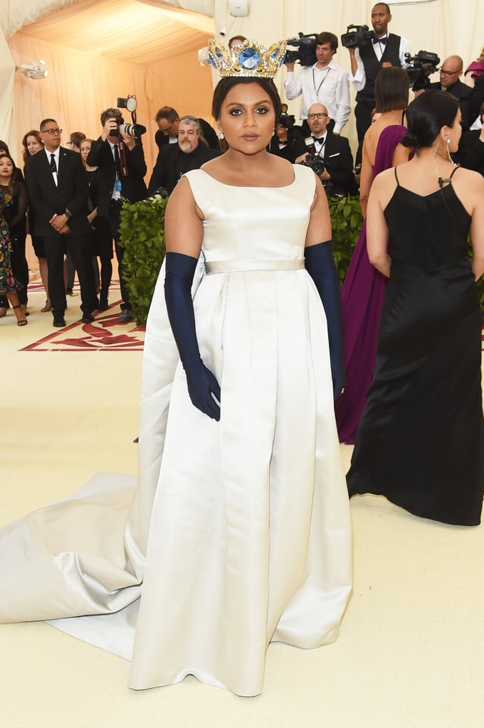 Mindy Kaling Met Gala Dress 2018