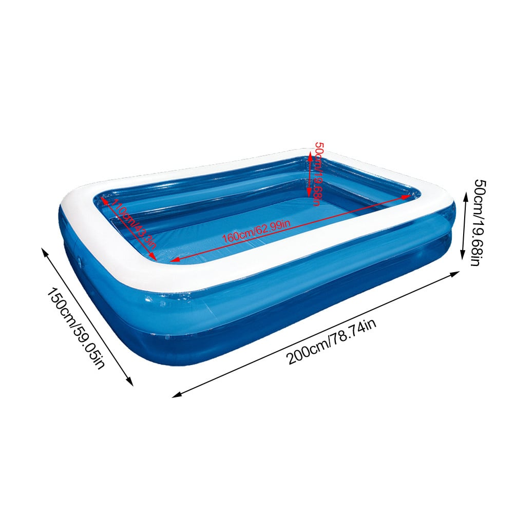 Akoyovwerve Inflatable Swimming Pool