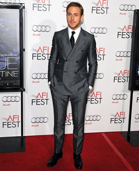Pictures of Ryan Gosling at a Blue Valentine Screening