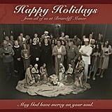 Ryan Murphy shared holiday greetings from American Horror Story. Source: Twitter user MrRPMurphy