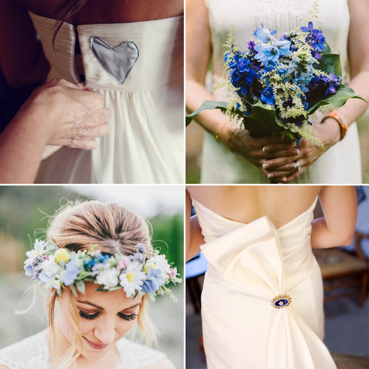 "24 Surprisingly Special Ways to Wear Your ""Something Blue"""