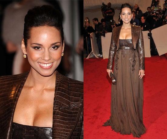 Alicia Keys at the 2011 Met Gala in Givenchy