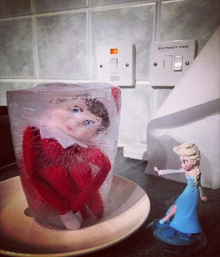 Funny Elf On The Shelf Ideas Popsugar Family