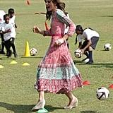 Kate Middleton's Anita Dongre Dress in Mumbai April 2016