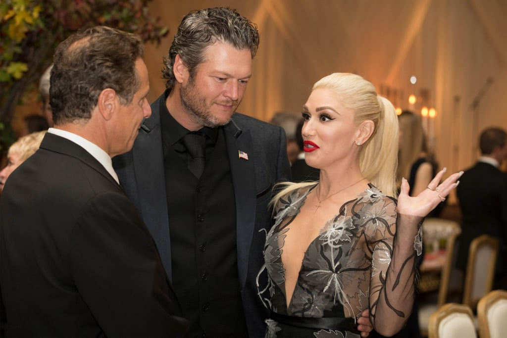 Gwen Stefani and Blake Shelton at White House State Dinner
