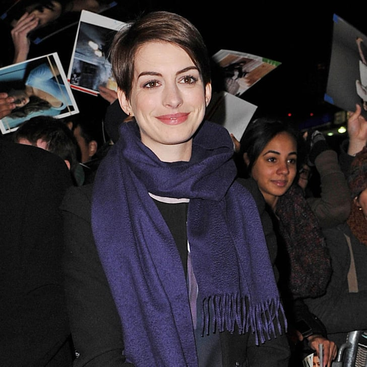 Anne Hathaway Now And Then: Anne Hathaway At The Daily Show