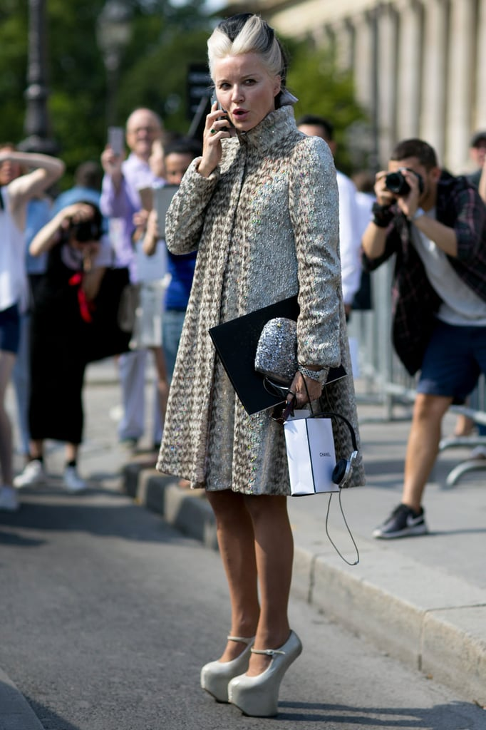 Street Style At Paris Haute Couture Fashion Week 2015 Popsugar Fashion Australia