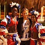 Garfors received a warm welcome in Punta Cana in the Dominican Republic.