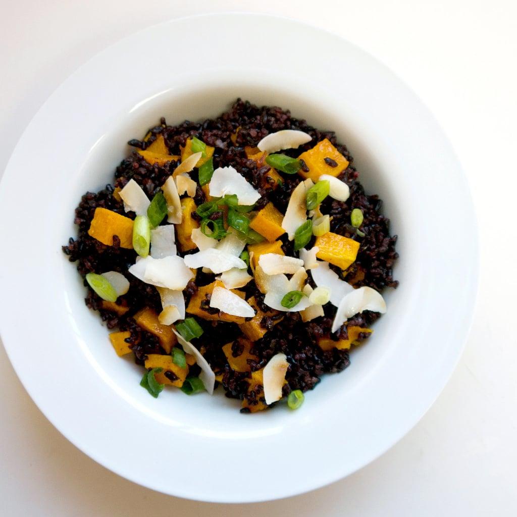 Black Rice and Butternut Squash Salad