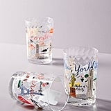 Libby VanderPloeg Skyline Juice Glasses