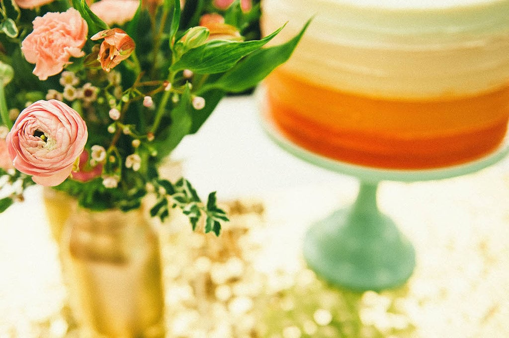 All That Glitters Is Gold at This Springtime Bridal Shower