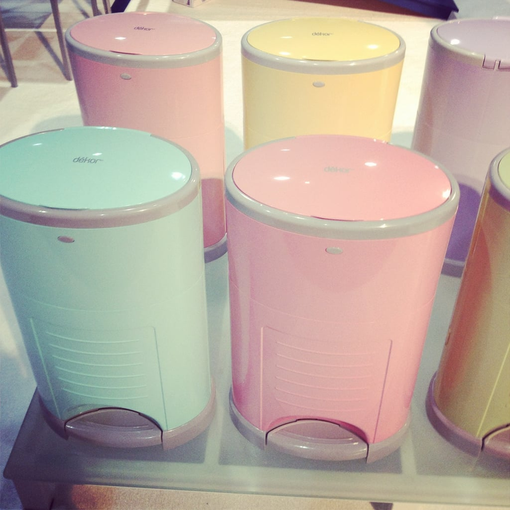 Diaper dekor is introducing color to its diaper pail line for Dekor diaper pail