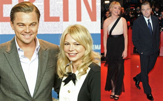 Photos of Michelle Williams, Leonardo DiCaprio, Mark Ruffalo, And Martin Scorsese Promoting Shutter Island in Berlin 2010-02-15 04:00:00