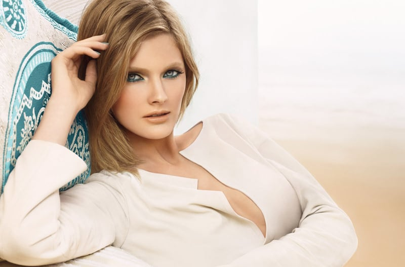 Estée Lauder Spring 2012 Topaz Collection Campaign