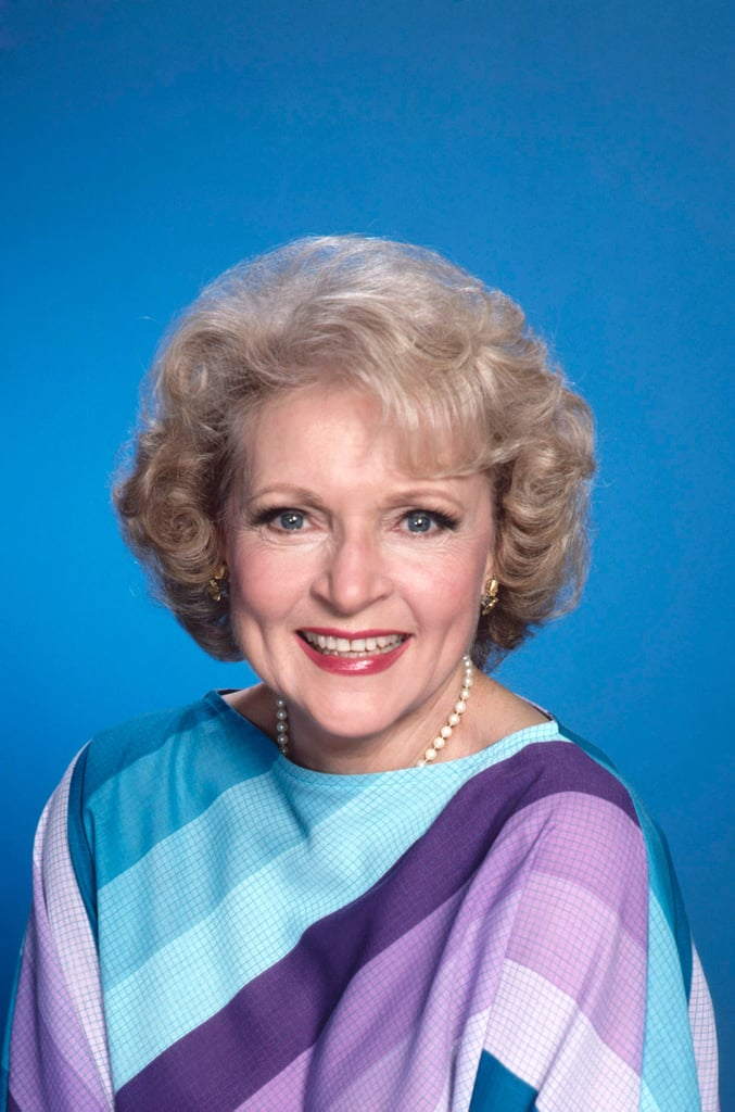 In 1985, Betty White Switched Up Her Lip Colour to a Brick Hue