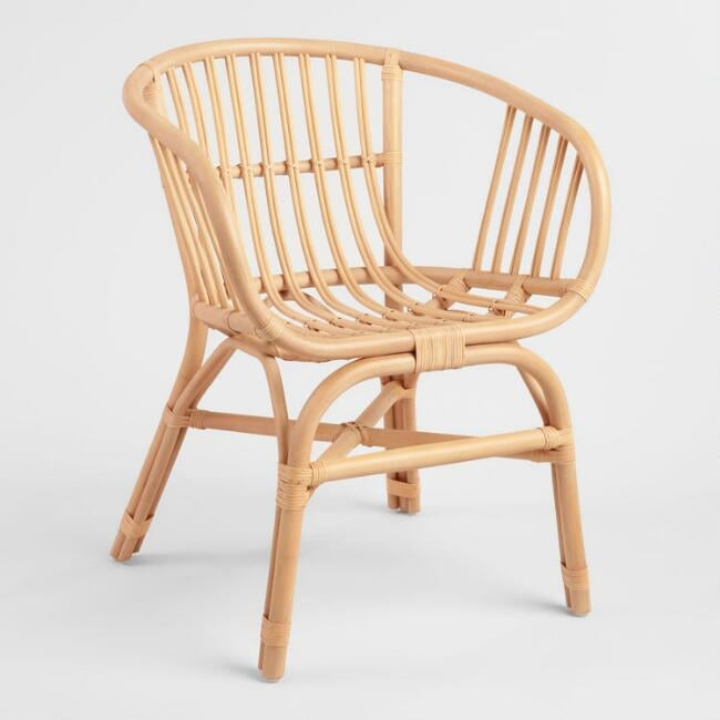 Natural Rattan Rachelle Chair Set of Two   Best Rattan ...