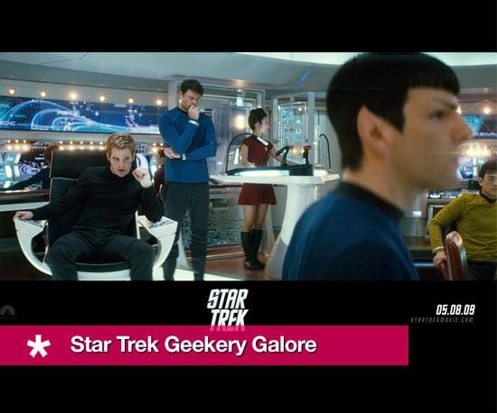 Star Trek Geekery Galore