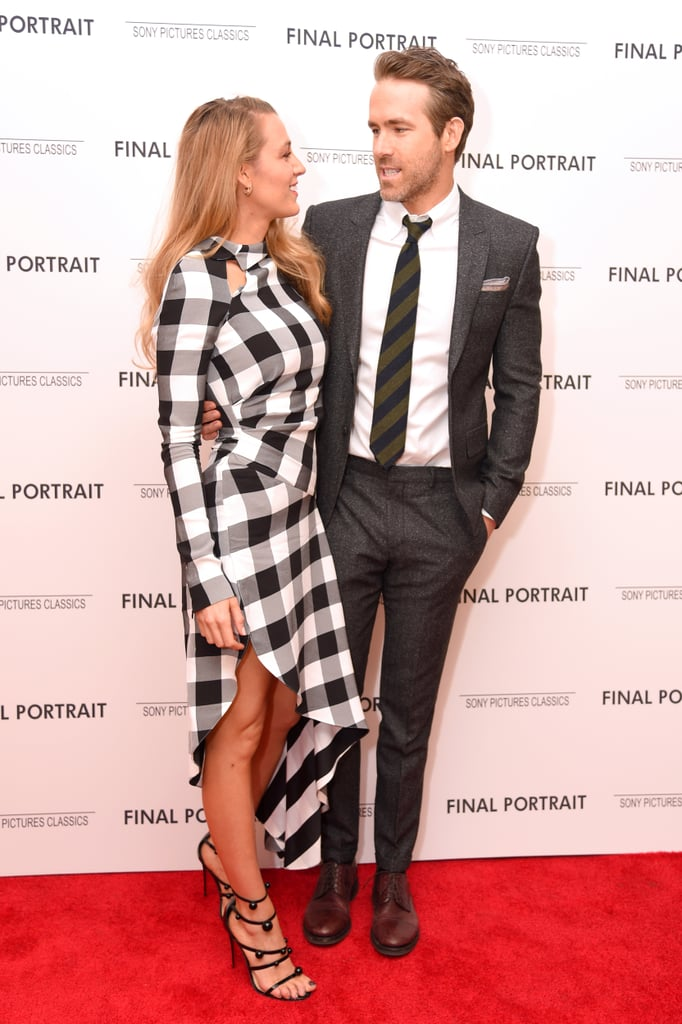 Blake Lively and Ryan Reynolds at Premiere March 2018 ...