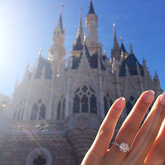 Propose at Disney World, Especially If You're a Disney Star