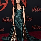 Xana Tang at the World Premiere of Mulan in LA