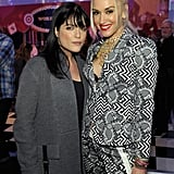 Gwen Stefani caught up with fellow famous mom Selma Blair.