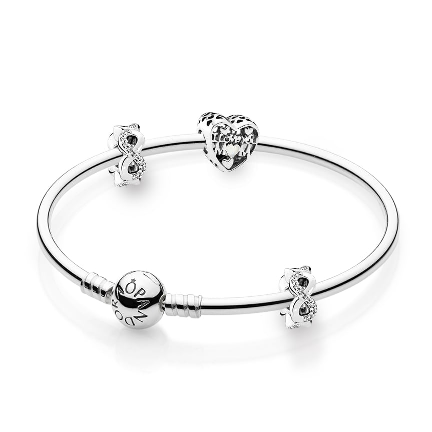Pandora Infinite Love Bangle Gift Set, $218