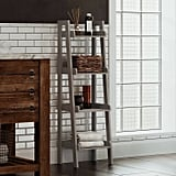 4-Tier Narrow Ladder Bathroom Shelf