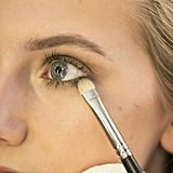 Don't forget to wrap the color around the eye and blend into the outer corner.