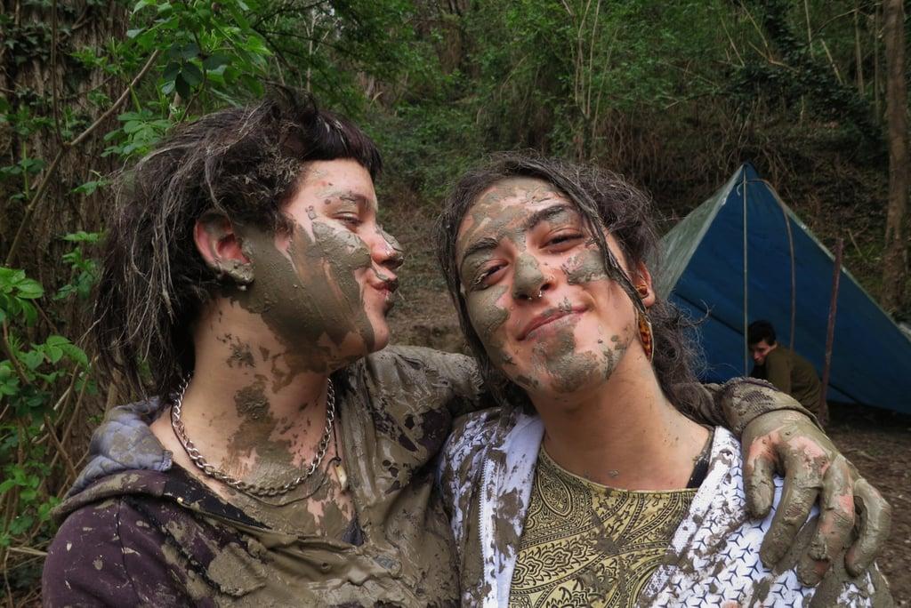Mud wrestle.