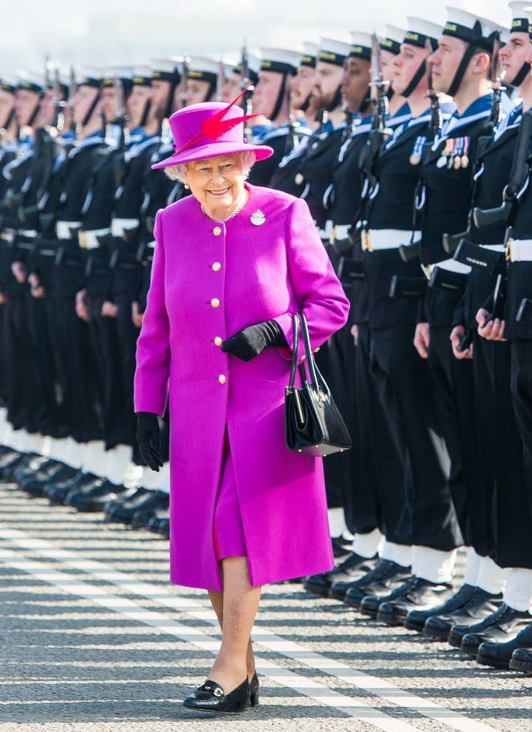 There's a Very Good Reason the Queen Wears Bright Colors