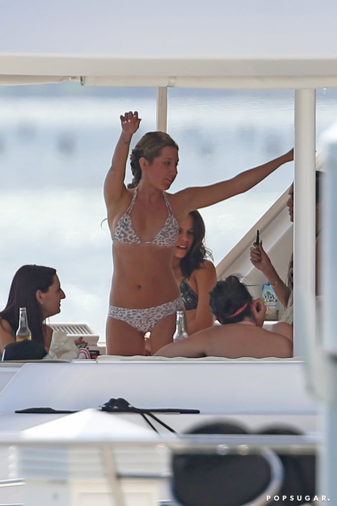 Ashley Tisdale's Bikini-Filled Bachelorette Party Looks Like a Music Video