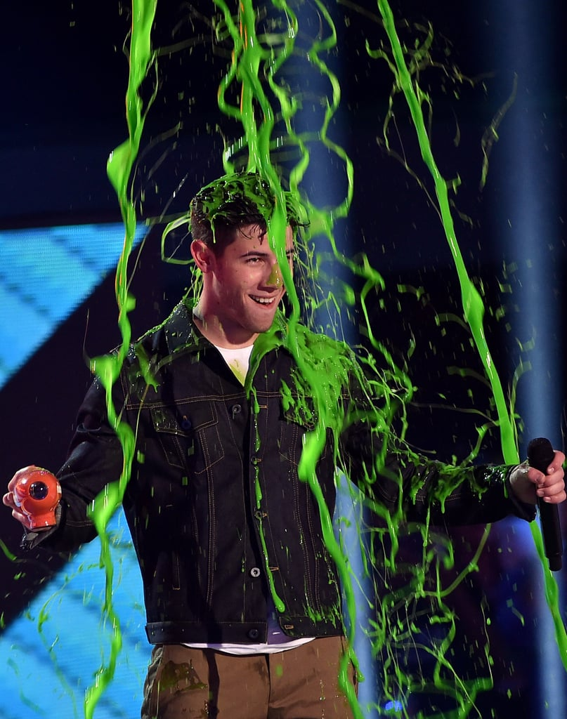 Slimed Celebrities at Kids' Choice Awards 2015 | Pictures