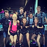 """""""Before... Clearly excited to jump into the New Year. #HappyHawaii🌺 #Skydiving #JumpingIntoTheNewYear"""""""