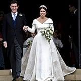 Princess Eugenie's Wedding Dress Print