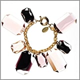 Amanda Pearl Faceted Octagons Bracelet ($198)