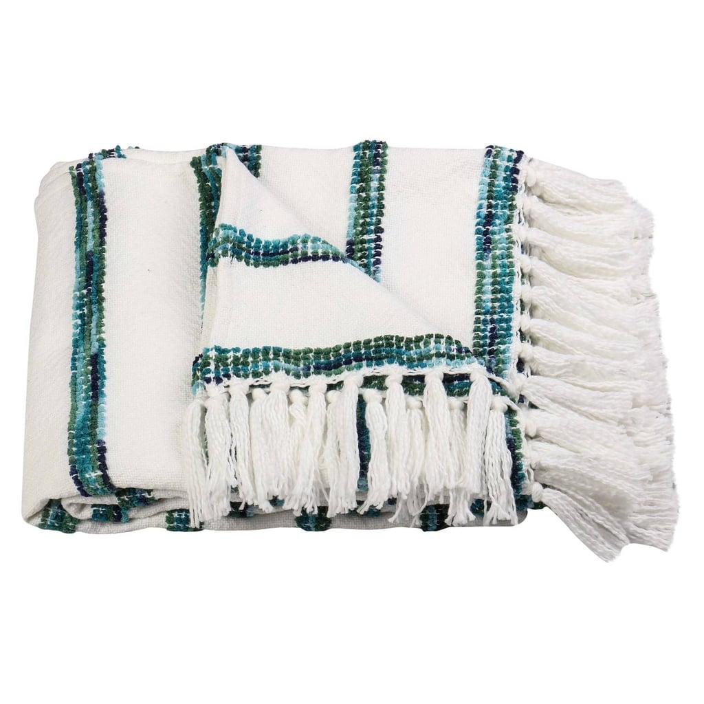 Threshold Striped Throw Blanket ($24, originally $30)