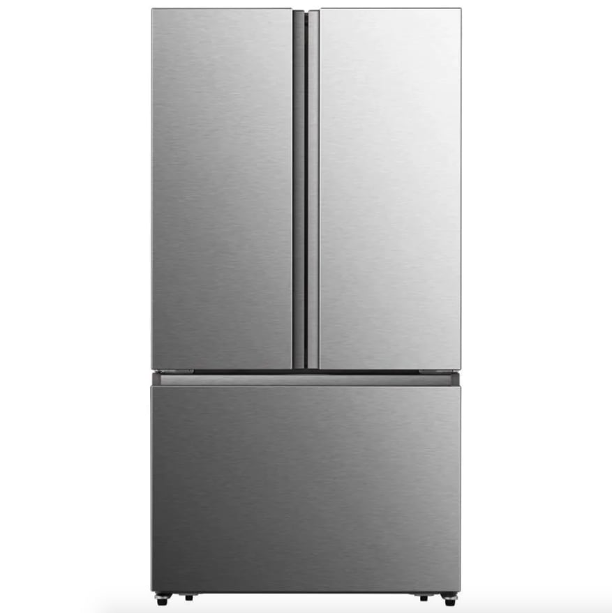 Hisense French Door Refrigerator with Ice Maker