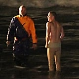 Justin Timberlake Spends His 30th Birthday Shirtless on the Set of Now!