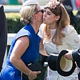 Zara Tindall and Princess Beatrice