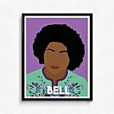 bell hooks Feminist Poster