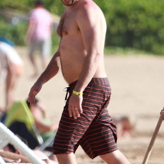 Guess Who's Shirtless in Hawaii?