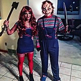 Boy and Girl Chucky From Child's Play