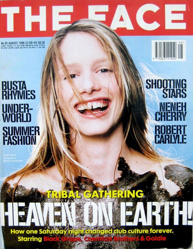Aug. 1996: Georgina Cooper