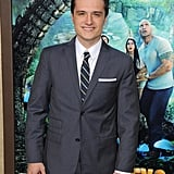 Josh Hutcherson smiled at his Journey 2: The Mysterious Island premiere.