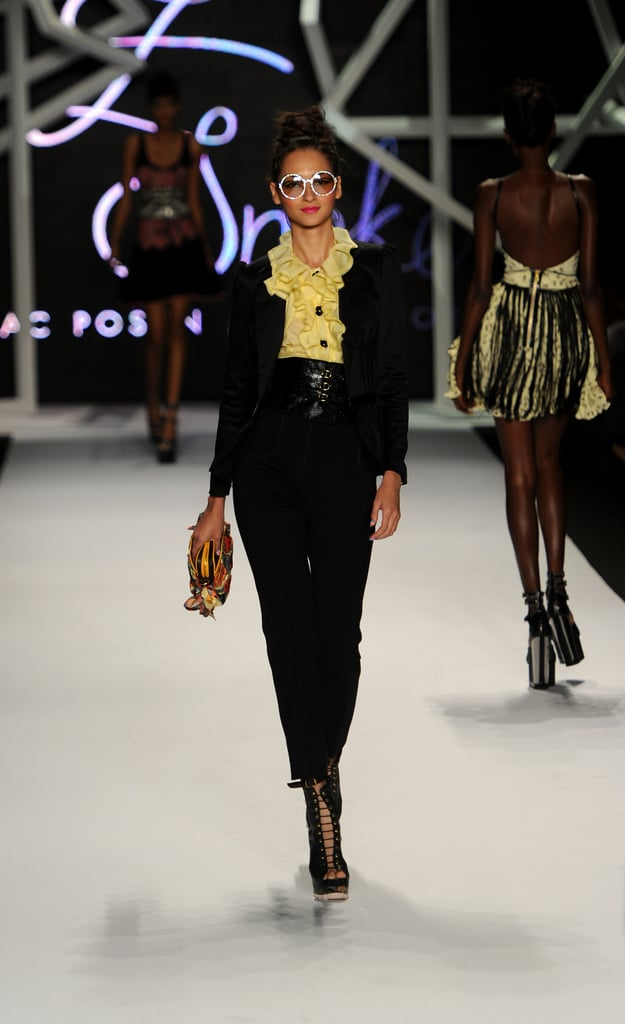Crystal Renn Makes New York Fashion Week Appearance at Z Spoke
