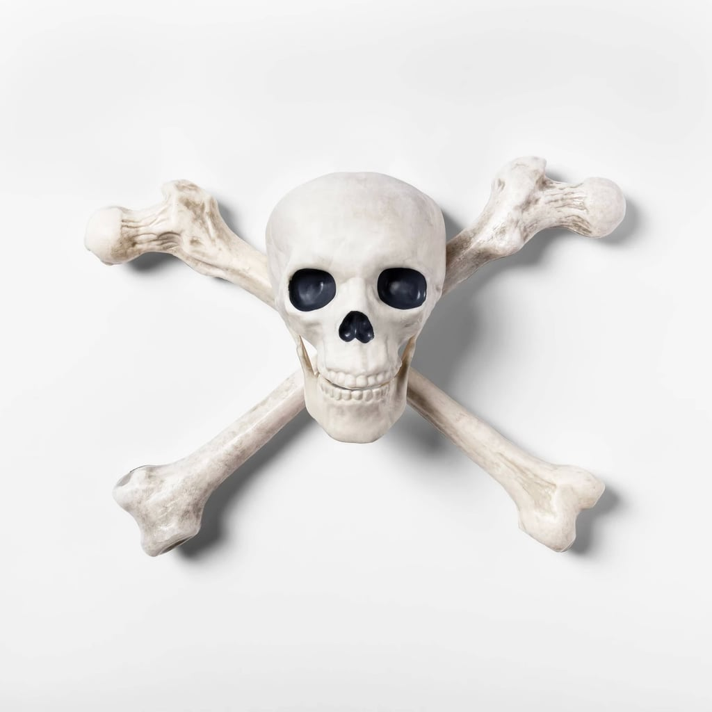 Skeleton Crossbone Halloween Wall Decor